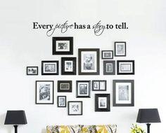 #Quadri e frasi decorative in soggiorno