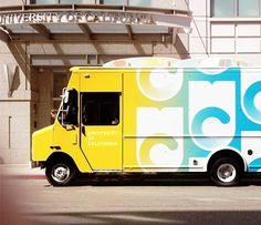 University of California truck
