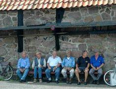 mannenonderelkaar-leugenbank Helgoland