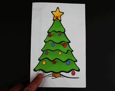 Christmas light-up cards using paper circuits. Free template PDF in color & BW. Great STEM or makerspace projects use copper tape, LED & coin cell battery. Led Christmas Tree, Christmas Math, Christmas Cards To Make, Christmas Paper, Christmas Activities, Christmas Projects, Holiday Crafts, Christmas Time, Christmas Decorations