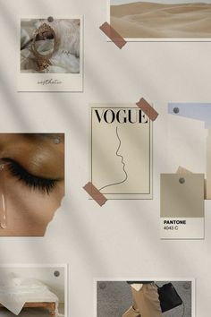 Moodboard mode Ideen, Bild von einem geschlossenen Augen, Vogue Magazin, beige Farben, Tumblr Aesthetic backgrounds Aesthetic Iphone Wallpaper, Aesthetic Wallpapers, Aesthetic Backgrounds, Collage Mural, Collages, Wall Collage Decor, Wall Art, Wall Murals, Aesthetic Room Decor