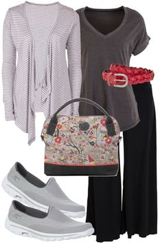 Jenny's Travel Outfit includes Betty Basics, Skechers, and bird keepers - Birdsnest Online Clothing Store