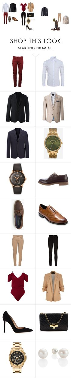 """Outfits Formales"" by anggie-carranza on Polyvore featuring Burberry, Emporio Armani, Skopes, Joseph, Nixon, Longines, Brunello Cucinelli, J.Crew, Cole Haan y Barbour"