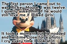 Coming out to Micky...