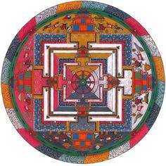 Tibet. Mandala