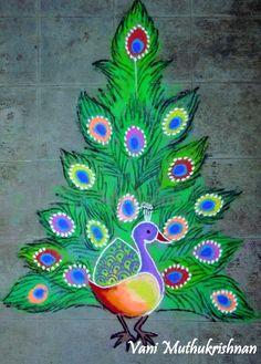 peacock xmas
