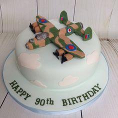 Lancaster bomber cake 5th Birthday, Happy Birthday, Birthday Cake, Lancaster Bomber, Piece Of Cakes, Diy Food, Ww2, Cake Ideas, Army