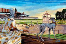 :: Trish Biddle Fine Art :: Rescued Me :: Glamorous Women in Fabulous Places :: Kentucky Derby :: Westminster Dog Show :: Eva Longoria