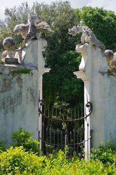 Giardini della villa Borghese Rome, Secret Gardens, Most Beautiful Cities, Krakow, Another World, Garden Gates, Walkway, Stairways, Hotels And Resorts