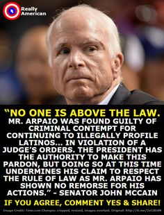 So not cool. A pardon is an admission of guilt- I am surprised Joe took it!