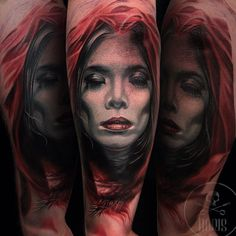 Tattoo portrait based on photography by Erwin Tirta, by tattoo artist Boris | Intenze ink