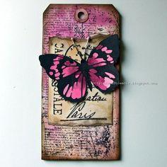 100% handmade - simply gorgeous tag