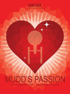 Mudd's Passion - Star Trek Animated Series Poster 10