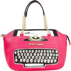Handbags - Shop Women's Purses & Designer Handbags from Betsey Johnson Unique Handbags, Unique Purses, Unique Bags, Satchel Purse, Satchel Handbags, Purses And Handbags, Gucci Purses, Betsy Johnson Purses, Betsey Johnson Handbags