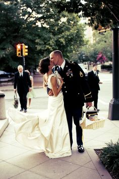 i want to marry a man in his uniform!