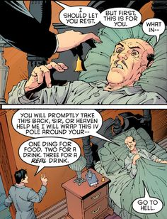 In fact, he thrives on getting his hands dirty. | 21 Reasons We Should All Be More Like Alfred Pennyworth