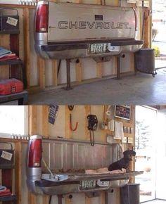 Man cave bench :)