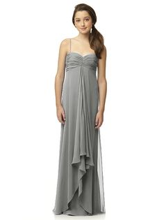 For the Junior Bridesmaids I am going to go with a gray color similar to this, but I haven't found the right style yet.