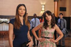 """Jessica Biel battles it out with Jess during """"The Last Wedding."""""""