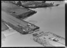 Aerial photograph taken by Whites Aviation. Quantity: 1 b&w original negative(s). Physical Description: Glass negative, x inches Nz History, My Family History, Queensland Australia, Western Australia, Auckland New Zealand, Old Images, Brisbane, Sydney, Interesting History