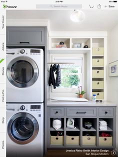 This is my washer & dryer! I may stack mine in a laundry room.