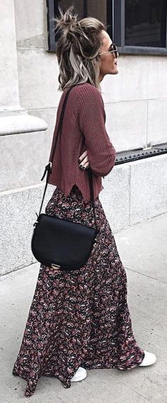Boho Chic Outfit Ideen - Prom Makeup Looks Fashion Over 40, Look Fashion, Womens Fashion, Trendy Fashion, Fashion Ideas, Dress Fashion, Brown Fashion, Fashion Clothes, Trendy Style