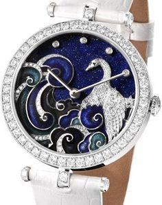 Check out >> Van Cleef & Arpels Woman Arpels Pavo Decor watch...