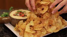Homemade Potato Twisters [2552x1431]