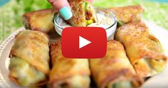 You have to eat 3 times a day for your whole life. Might as well learn awesome recipes like these Avocado Egg Rolls.