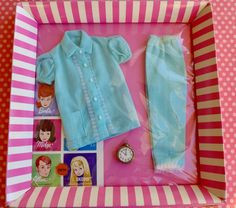 Vintage Barbie Pajama Party #1601 Mint in Original Box