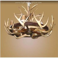 How to make antler lamps 9 steps with pictures wikihow i see 8 light wagon wheel antler chandelier aloadofball Images