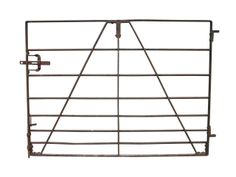 EARLY 20TH C. WROUGHT IRON LIVESTOCK GATE - UK Architectural Heritage
