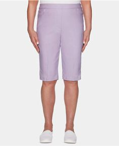 98614a1eb Alfred Dunner Catalina Island Pull-On Bermuda Shorts Alfred Dunner, Bermuda  Shorts, Stretches
