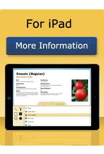 Mobile Vegetable Garden Planner app for iPad plus other gardening info