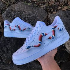 Custom takes around weeks after ordered to ship. Some items will ship sooner depending on the volume of orders. Contact me for any questions. Custom Painted Shoes, Custom Shoes, Nike Shoes Air Force, Sneaker Art, Sneakers Fashion, Sneakers Nike, Aesthetic Shoes, Fresh Shoes, Hype Shoes