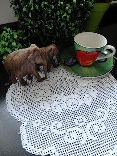Toca do tricot e crochet: crochet filet