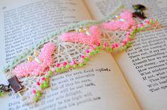 Butterfly effect.. handmade Vintage lace bracelet by DustyDaisy