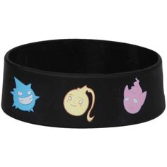 Soul Eater Rubber Bracelet | Hot Topic ($7) found on Polyvore