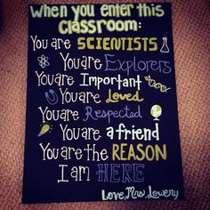 ideas for science teacher classroom grades Classroom Quotes, Classroom Posters, Classroom Design, Classroom Ideas, School Posters, Math Classroom, Classroom Tools, Teaching Quotes, Teaching Science
