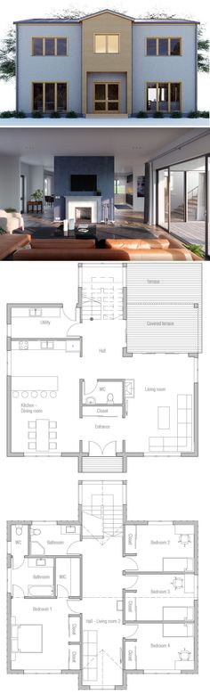 Architecture, Home Plans, House Plans, House designs.