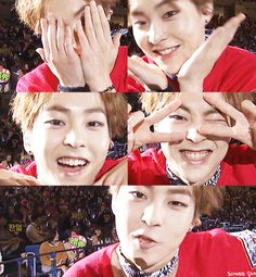 Xiuminnie. I keep clicking on the wrong board!! Oh well, too lazy to fix it. I'll just have a random Xiumin on my random fandom board
