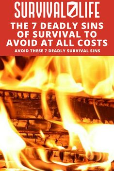 You're stocked up and prepared for any sort of crisis. Your house is full of canned goods and ammunition. You've got backup plans to your backup plans… and you're ready to bug out at the first sign of trouble. But have you left yourself open to the 7 deadly sins of survival? #SurvivalLife #Survival #Tips #Skills