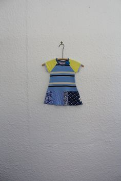 Baby Dress Recycled T Shirt Dress Girl's by cynthiamadeforkids