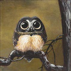 Andrea Gerstmann Art: Cute Owl