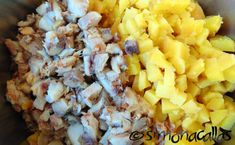 Salata de peste afumat cu maioneza c Grains, Rice, Food, Salads, Essen, Meals, Seeds, Yemek, Laughter
