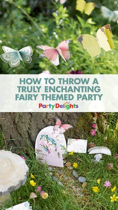 Find out how to throw a beautiful fairy themed party out in the woods with our Truly Fairy party supplies. Find inspiration for fairy party decorations, fairy party food ideas, fairy themed party games and more!