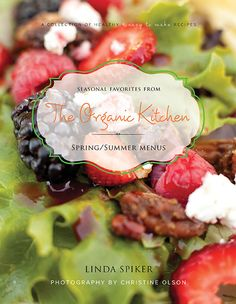 Hands down, the best cookbook series out there. Totally doable recipes that are healthy and, most importantly, taste amazing!!!  www.theorganickitchen.org