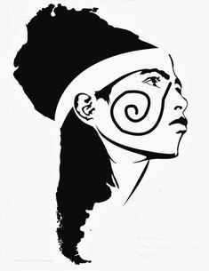 Fabric Patch:-Chronicles of the earth without evils: the inhabited woman - Gioconda Belli (fragment)/ Crônicas da terra sem males: a mulher habitada - Gioconda Belli (fragmento) Inka Tattoo, Arte Latina, Button Tattoo, Mayan Tattoos, Arte Do Harry Potter, Half Sleeve Tattoos Designs, Desenho Tattoo, Silhouette Vinyl, Political Art