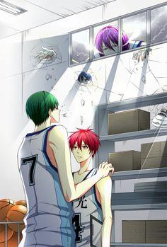 ■ Kuroko no Basket ■ Midorima Shintarō ●Midorima Shintarou ●Akashi Seijuurou ○AkaMido ■MidoAka
