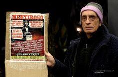 el blog de josé rubén sentís: el hombre del cartel en el tren